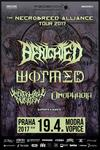BENIGHTED, WORMED, UNFATHOMABLE RUINATION, OMOPHAGIA