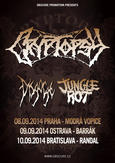 CRYPTOPSY, JUNGLE ROT, DISGORGE, MATRICIDE