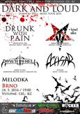 Dark and Loud Brno - ACHSAR, DOWN TO HELL, EMBRACE THE DARKNESS, DRUNK WITH PAIN