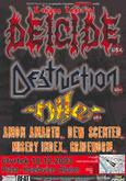DEICIDE, DESTRUCTION, AMON AMARTH, NILE, DEW-SCENTED, MISERY INDEX