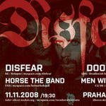 DISFEAR, DOOMRIDERS, HORSE THE BAND, MEN WITHOUT GOD