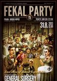 FEKAL PARTY 2013