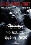Female Fronted Frenzy - NOCTURNAL PESTILENCE, NOISEBLEED, STAY DOWN, ENNOIA