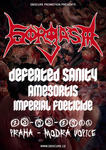 GORGASM, DEFEATED SANITY, AMAGORTIS, IMPERIAL FOETICIDE