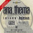 Prog in Park II - Anathema, Ihsahn, Leprous, Tides from Nebula, Postcards from Arkham