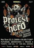 PROTEST THE HERO, THE CHARIOT, THE HUMAN ABSTRACT