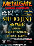 SEPTICFLESH, SILENT STREAM OF GODLESS ELEGY, ENDLESS, PUBLIC RELATIONS