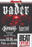 VADER, CRYPTOPSY, SEPTIC FLESH, DECREPIT BIRTH, UNMERCIFUL, DEVIAN, INACTIVE MESSIAH