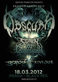 Omnivium Europe 2012 - OBSCURA, SPAWN OF POSSESSION, GOROD, EXIVIOUS