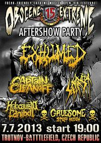 Obscene Extreme 2013 - aftershow party
