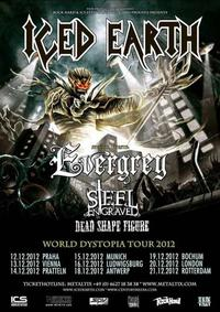 Iced Earth a Evergrey tour