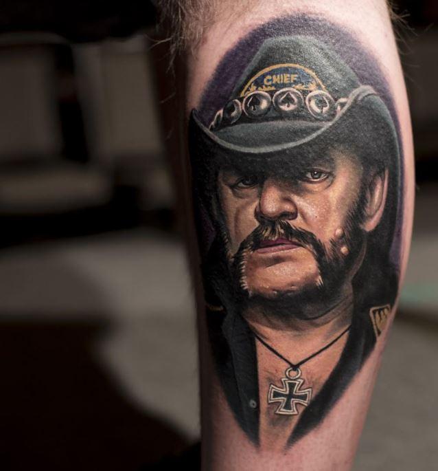 Al Jourgensen Tattoos