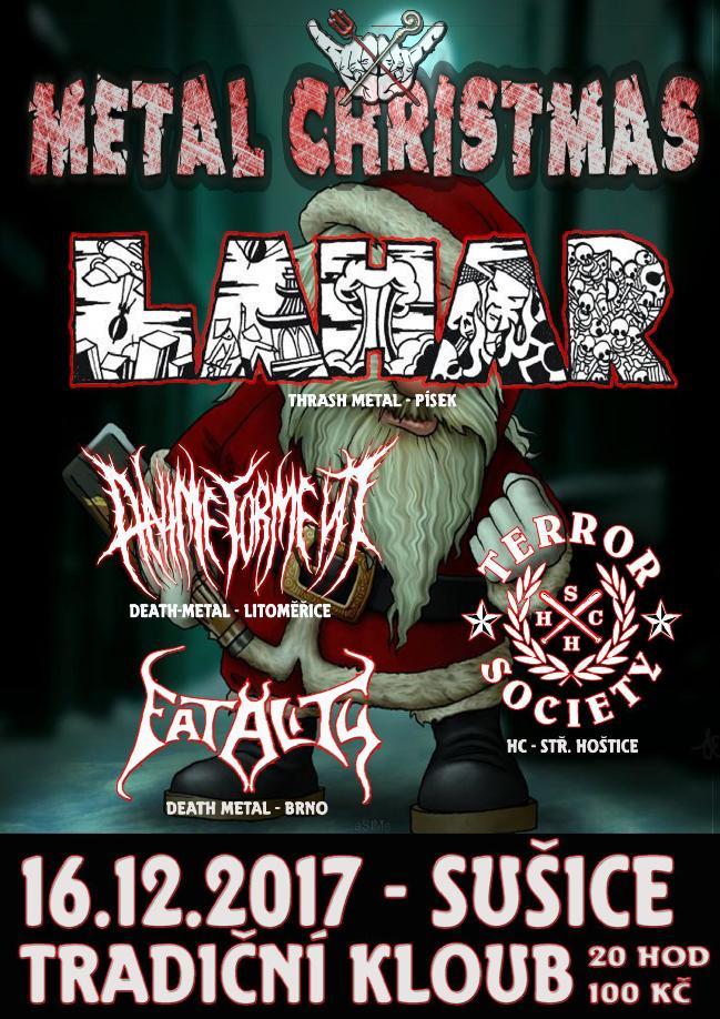 je to hezk zvyk a proto bychom jej mli kolektivn udrovat v dobrm povdom nejinak je tomu s metal christmas v tradinm kloubu v suici - Death Metal Christmas