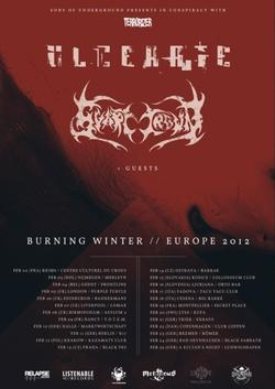Ulcerate tourposter