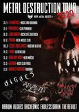 Metal Destruction tour prosviští skrz ČR