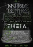 ANIMA TEMPO - Caged In Europe Tour 2016