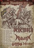 The Extreme Metal Tour Of 2016 v čele s BEHEMOTH